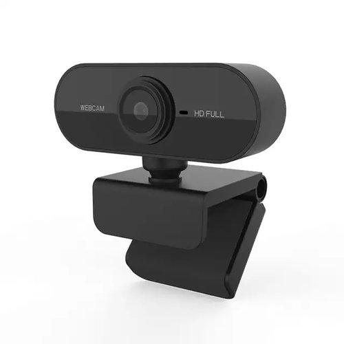 Webcam voor PC en Computer - Met ingebouwde microfoon - Full HD 1080P