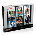 Winning Moves - James Bond Puzzle - 1000 pieces - All Debut Posters