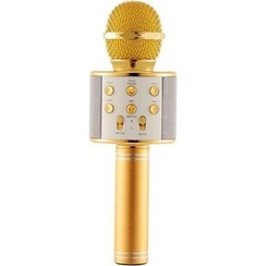 Karaoke Microphone - Wireless - Bluetooth Connection