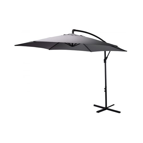 Pro Garden Pro Garden - Floating parasol - Ø3 M - Grey