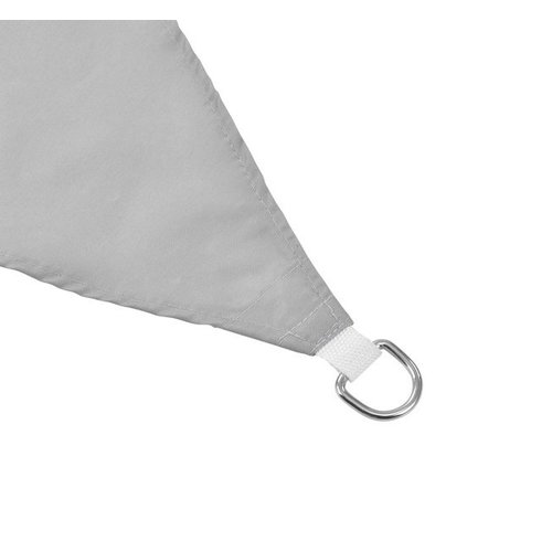 Shade Cloth - 3.6 x 3.6 x 3.6 metres - Light Grey