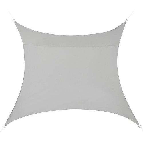 Schaduwdoek - 3 x 3 meter - Vierkant - Licht Grijs