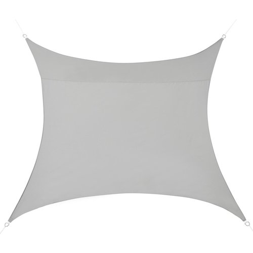 Shade Cloth - 3 x 3 metres - Square - Light Grey