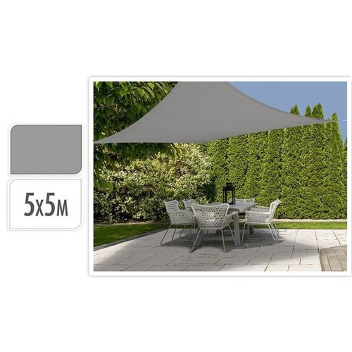 Ambiance - Shade Fabrics - Square - Grey - 5x5m