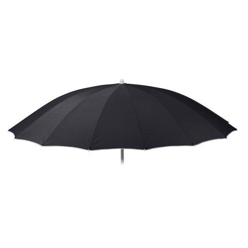 Parasol  - Shanghai - Polyester - Zwart - 240 cm
