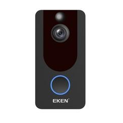 Eken V7 - Video Deurbel HD - Incl. Oplaadbare batterijen + Gong