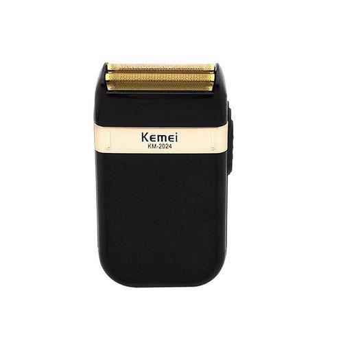 Kemei - KM2024 - Shaver - Pocket size - Gold & Black