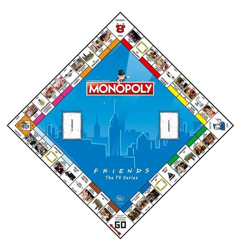 Monopoly - Friends - Family game - English board game