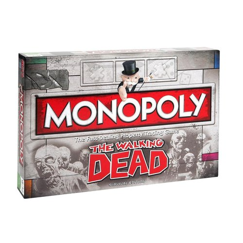 Monopoly - The Walking Dead - Party game - English board game