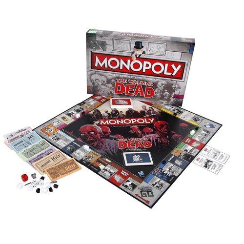 Monopoly - The Walking Dead - Gezelschapsspel - Engelstalig Bordspel