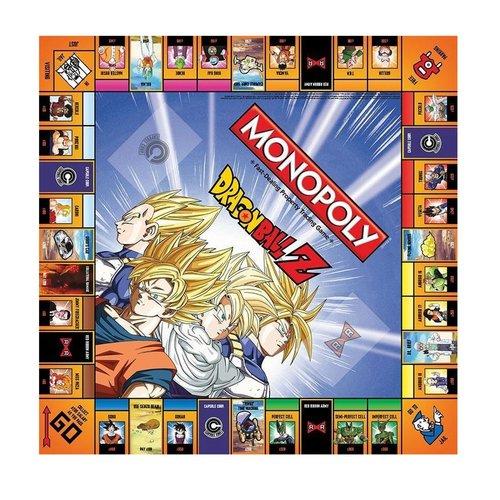 Monopoly - Dragon Ball Z - Gezelschapsspel - Engelstalig Bordspel