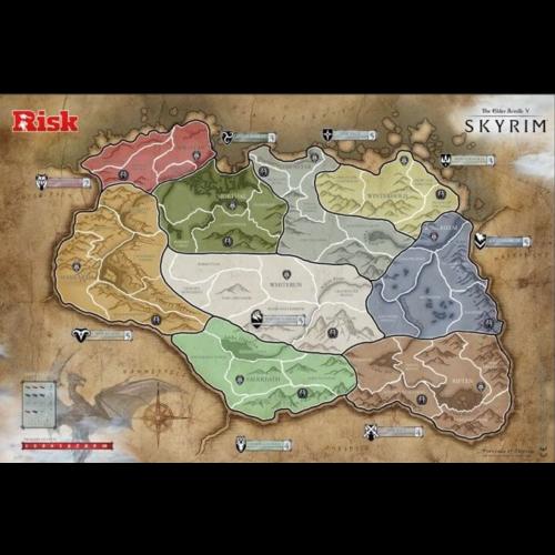 Risk Skyrim The Elder Scrolls V - Board game - English