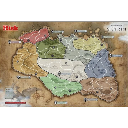 Risk Skyrim The Elder Scrolls V - Bordspel - Engelstalig
