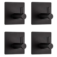 Parya Home - Towel Hook - 4 pieces - Without drilling