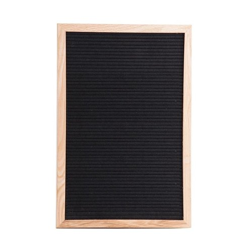 Parya Home - Wooden Memo Board - 340 Characters - Includes Stand
