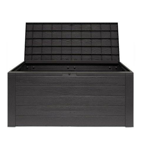 Parya Home - Antraciet Kussenbox - 300 L