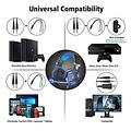Parya Official - Gaming Headset - 3.5 mm jack - Black & Blue