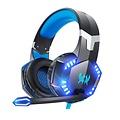 Parya Official - Gaming Headset - 3.5 mm jack - Zwart & Blauw