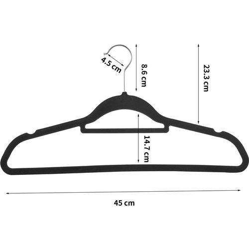 Parya Home -  50 Anti-slip kleerhangers