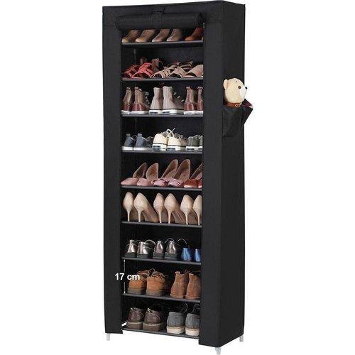 Parya Home - Schoenenrek met 10 niveaus - tot 27 paar schoenen