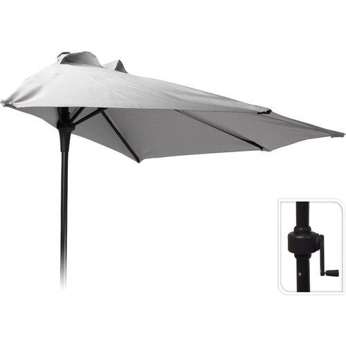 Pro Garden Parasol - Half Round - Balcony Parasol - 250 cm