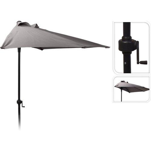 Pro Garden Parasol - Half Rond - Balkonparasol - 250 cm -