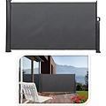 Pro Garden Extendable terrace windshield - 3 X1.4 meters