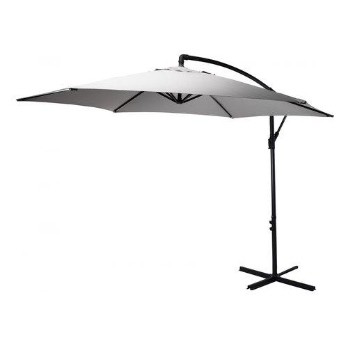 Pro Garden Pro Garden - Floating parasol - Ø3 M - Grey & light grey