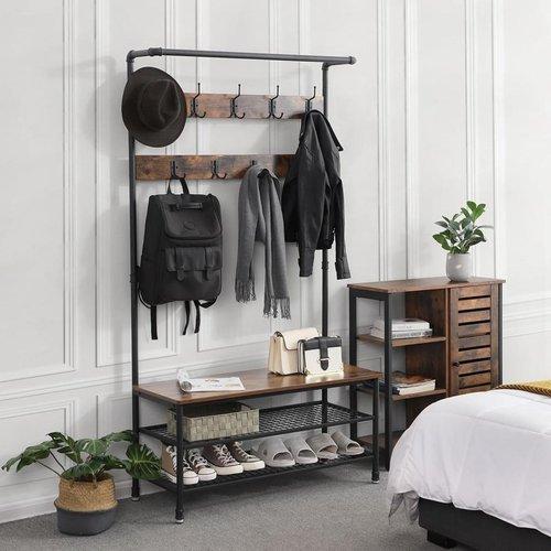 Parya Home - Garderoberek Met Kapstok