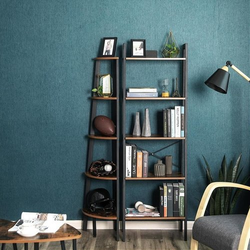 Parya Home - Vintage Cupboard With 5 Shelves