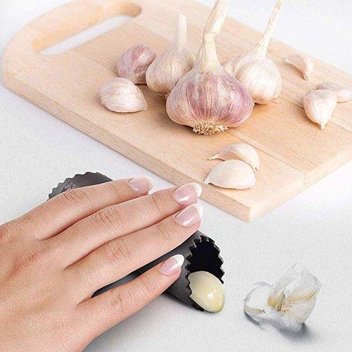 Parya Official - Garlic Press Incl. Peller & Brush