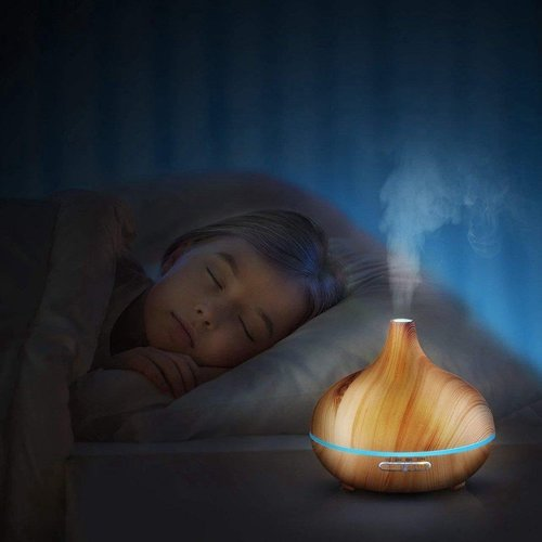 Parya Home - Luxe Aroma Diffuser 400ML - Inclusief afstandsbediening