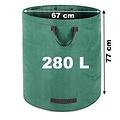 2 x tuin afvalzak - 280 liter - 50 kg