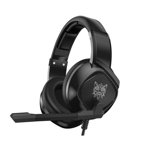ONIKUMA K19 - Gaming headset - With stereo USB microphone - Black