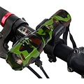 Parya Official Military Flashlight Green- Includes Bicycle Holder