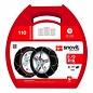 SnovitKN Schneeketten für PKW | Reifengröße 155/70R15