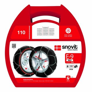 SnovitKN Schneeketten für PKW   Reifengröße 165/65R15