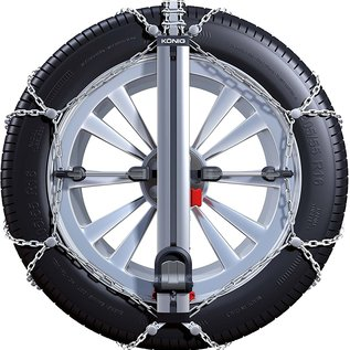 König Easy Fit PKW Schneeketten für Reifengröße 165/60R15