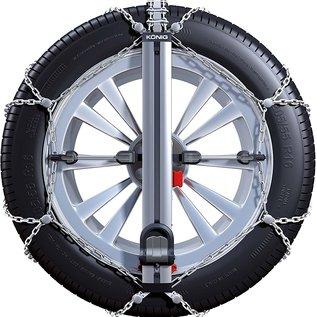 König Easy Fit PKW Schneeketten für Reifengröße 235/40R17