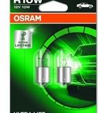 Osram Ultralife gloeilamp 12v 10w Ba15s