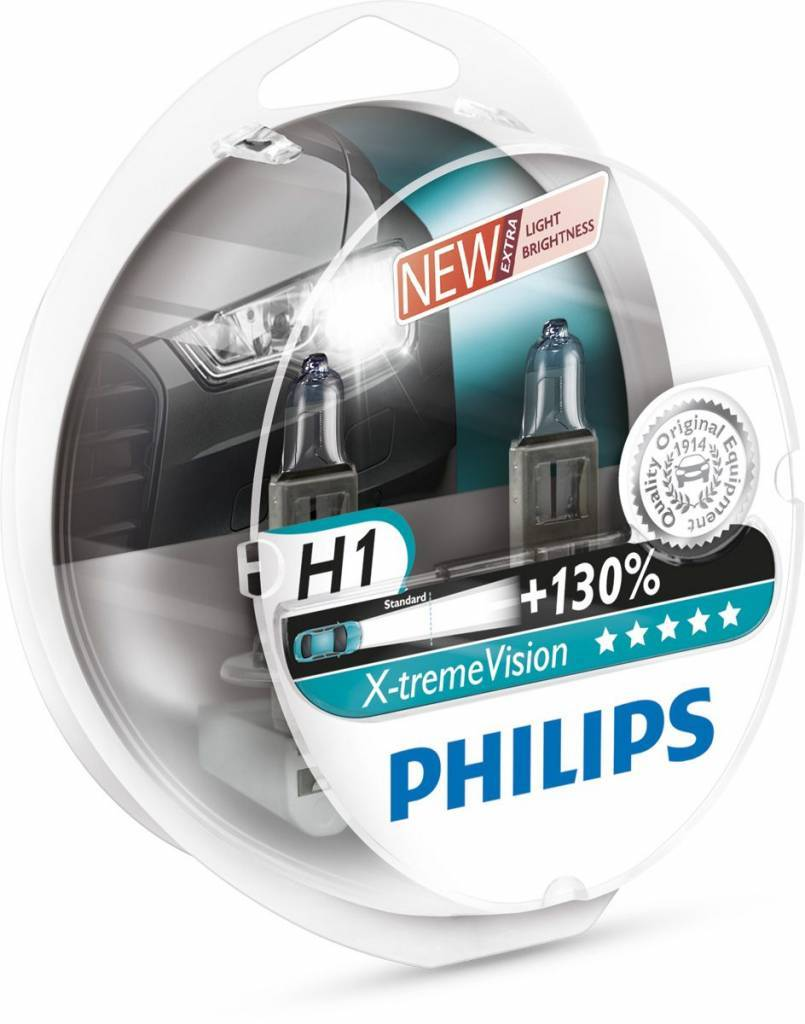 Philips H1 XtremeVision Blister double