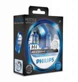 Philips H4 Colorvision Bleu Blister double