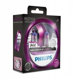 Philips H4 ColorVision Violet Blister double