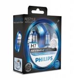 Philips H7 ColorVision Bleu Blister double