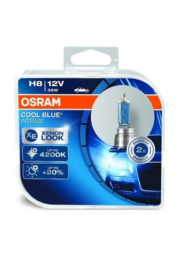 Osram Cool Blue Intense H8 blister double