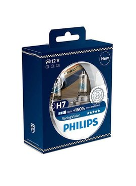Philips H7 Racingvision blister double