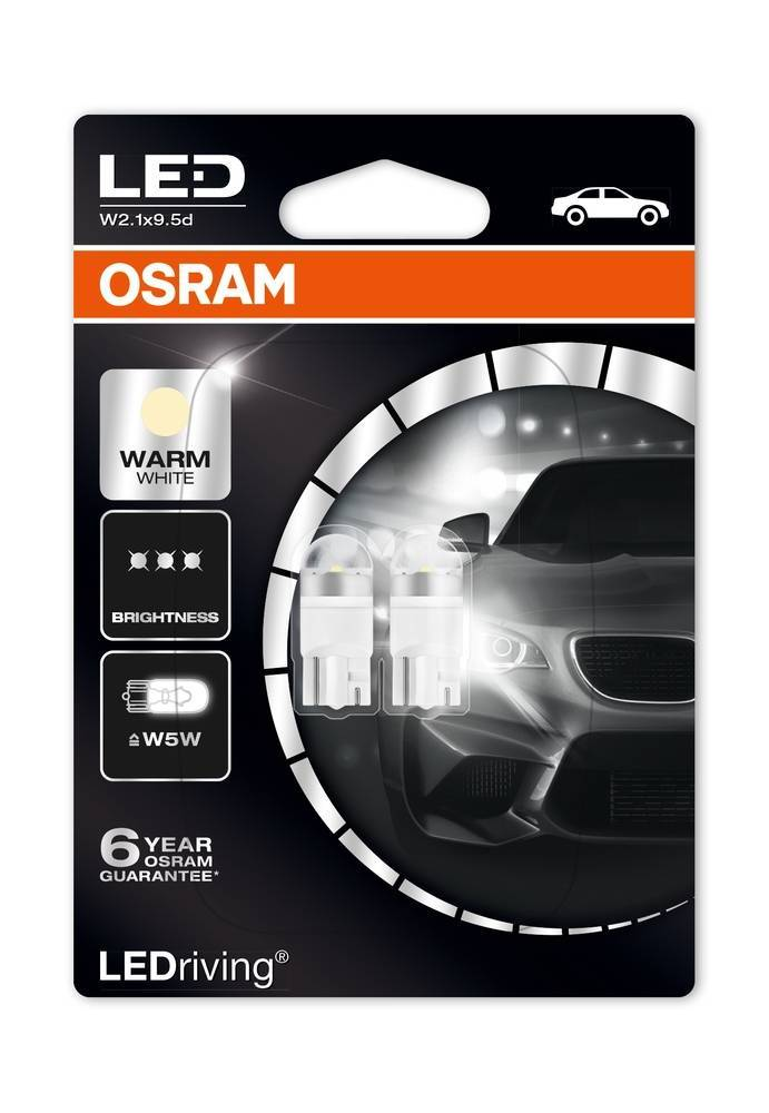 Osram Ledriving Premium W5W 4000k