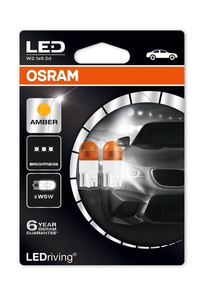 Osram Ledriving Premium W5W oranje