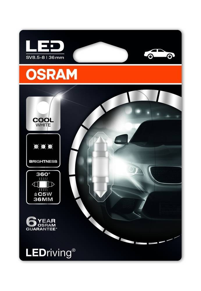 Osram Ledriving Premium C5W 6000 K