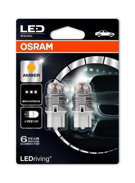 Osram Ledriving Premium WY21/W orange